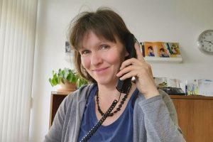 Stephanie Müller Beraterin der SkF-Haltestelle